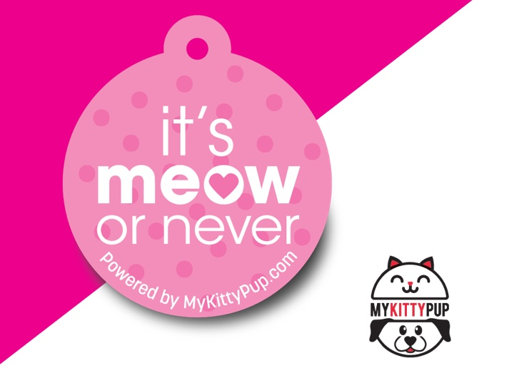 It's Meow or never pink